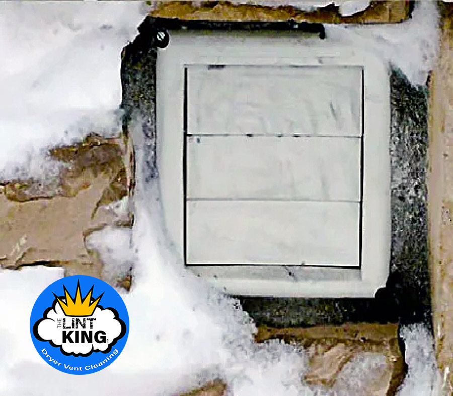 Frozen Clothes Dryer Vents
