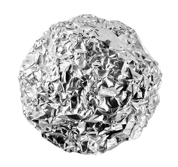 Foil Ball Controls Static