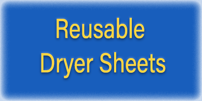 Reusable Clothes Dryer Sheets