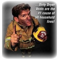 The cause of dryer vent clogs