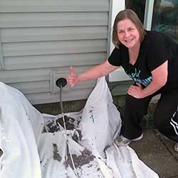 Northlake IL residents get their dryer vents cleaned annually.